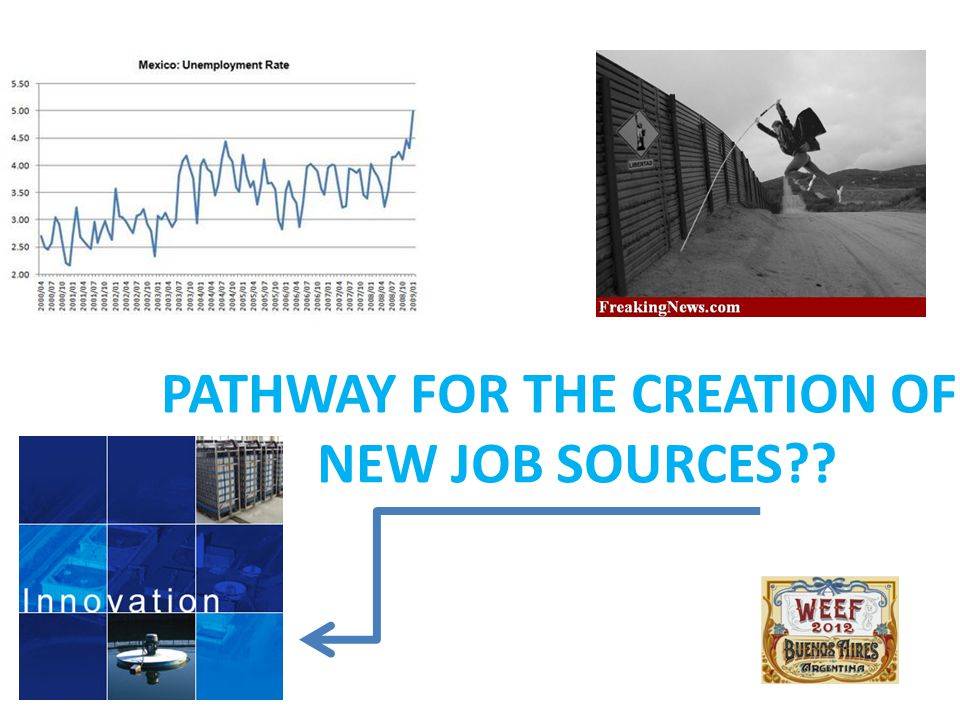 PATHWAY FOR THE CREATION OF NEW JOB SOURCES??