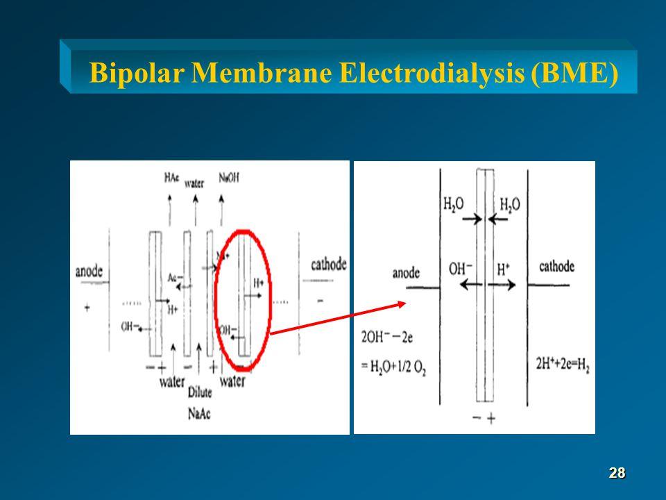 Bipolar Membrane Electrodialysis (BME) 28