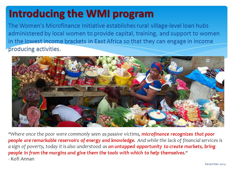  The DFW grant will be used to expand the Buyoba, Uganda loan hub to 320 women in surrounding remote villages.