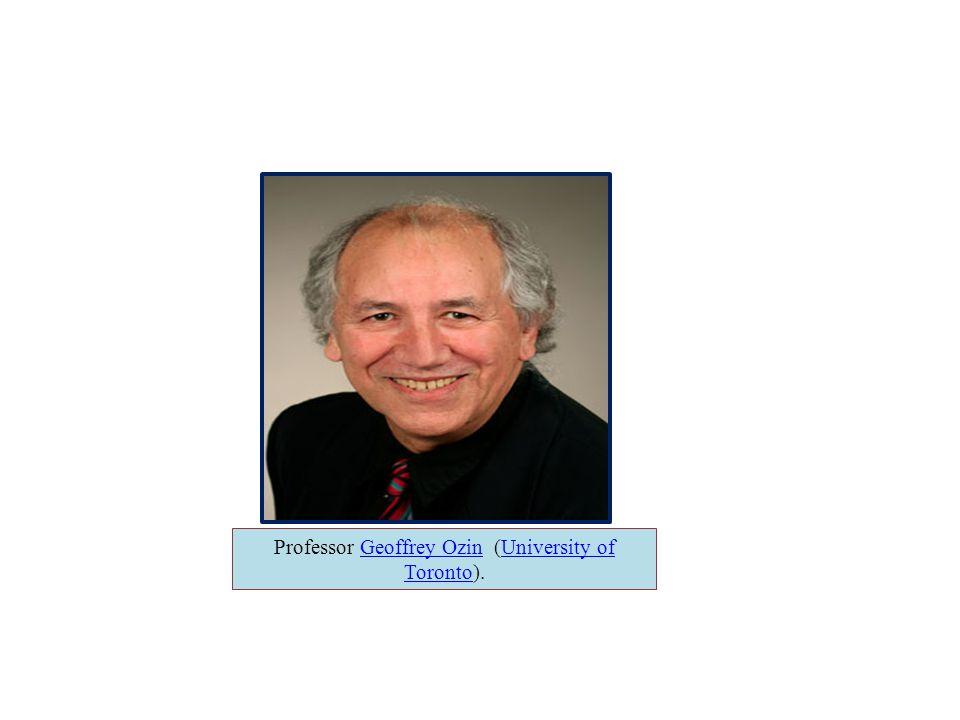 Professor Geoffrey Ozin (University of Toronto).Geoffrey OzinUniversity of Toronto