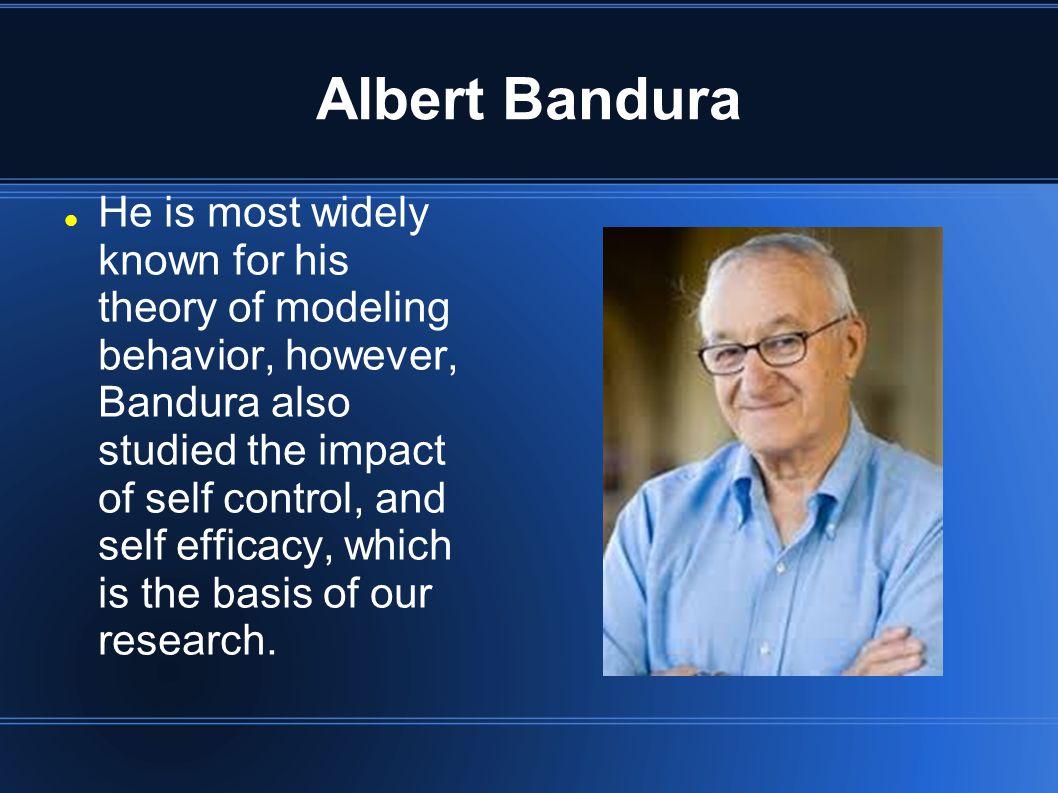 Early Life Bandura was born December 4, 1925 in Mundare, Canada.
