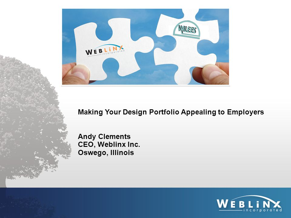 Weblinx History  Company Started in 1997  Incorporated in 2001  Moved to 68 Main Street in 2002  Moved to 165 Kirkland Circle in 2008  Over 1000 Clients Today  15 Creative Employees