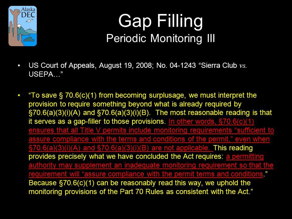 US Court of Appeals, August 19, 2008; No.04-1243 Sierra Club vs.