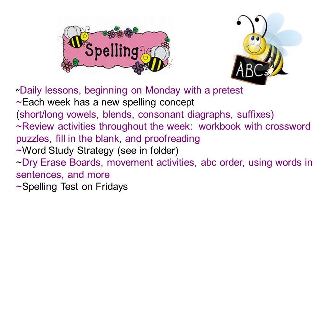 Students will be permitted to bring in a daily snack.