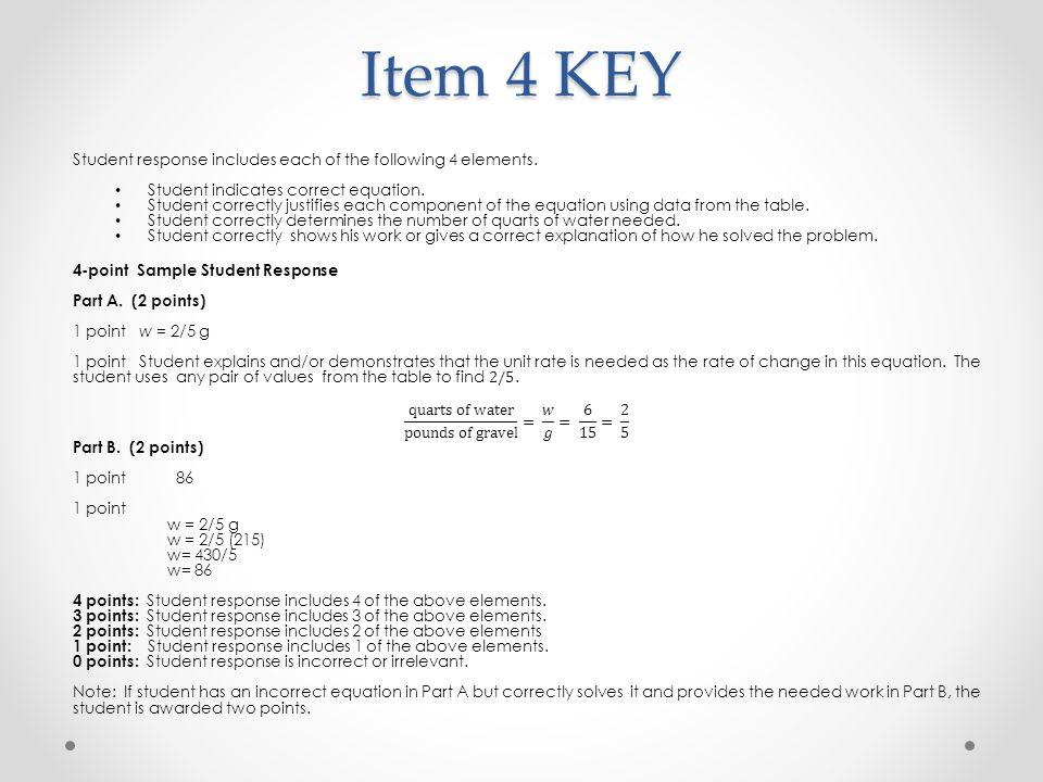 Item 4 KEY