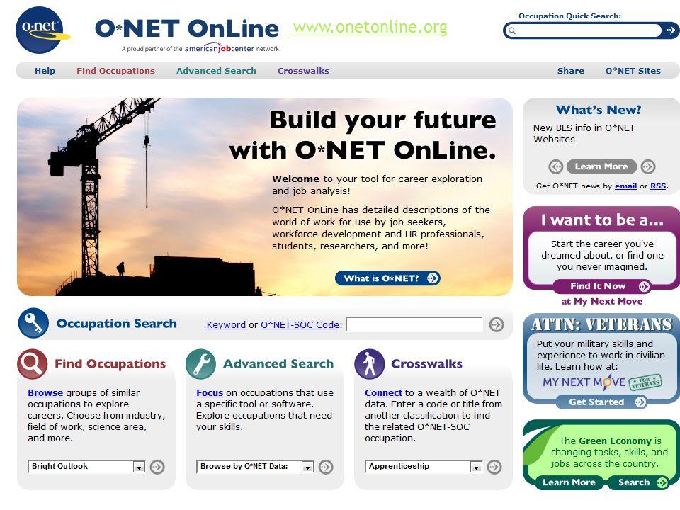 www.onetonline.org