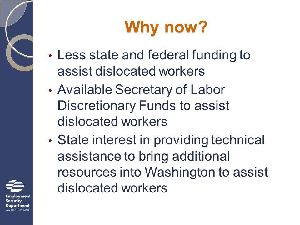 Webinar Topics What is a National Emergency Grant.