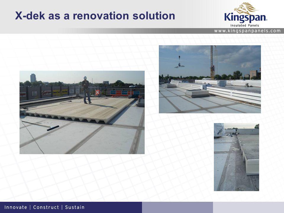X-dek as a renovation solution