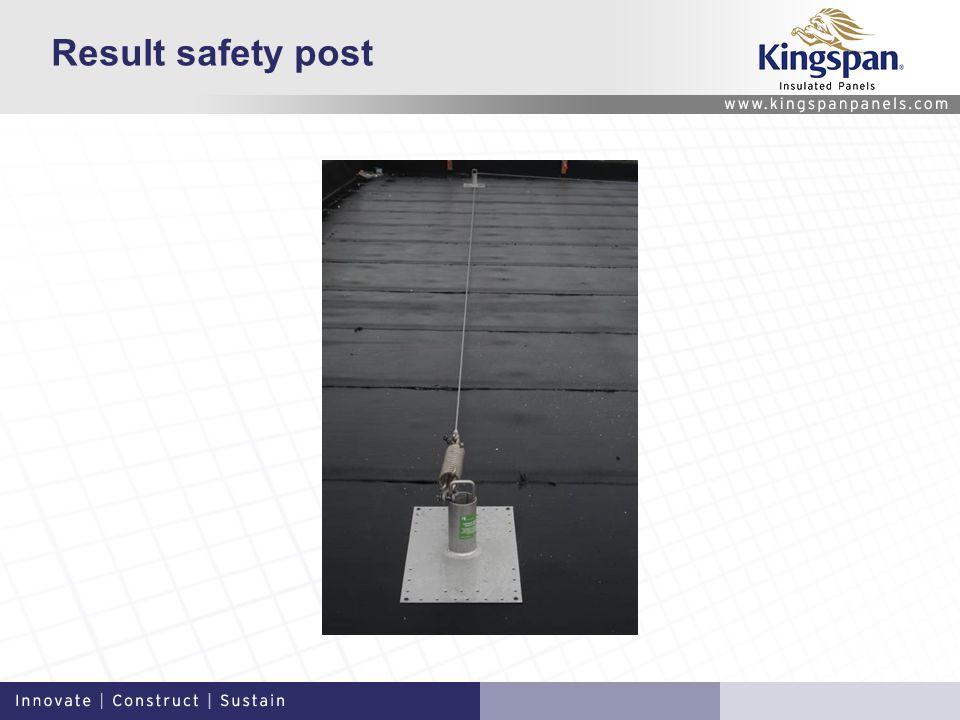 Result safety post