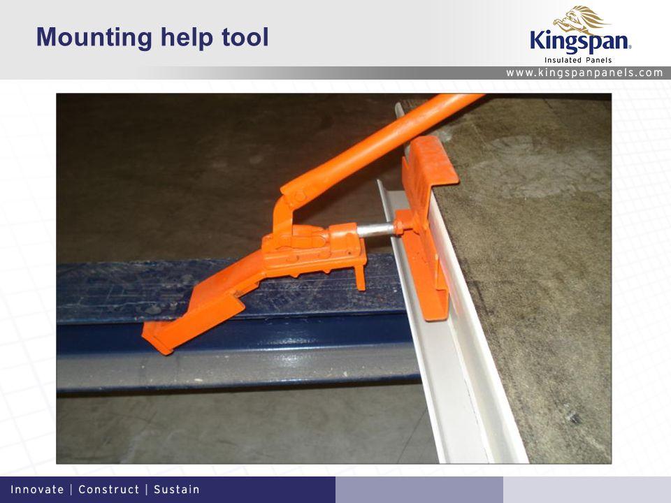 Mounting help tool