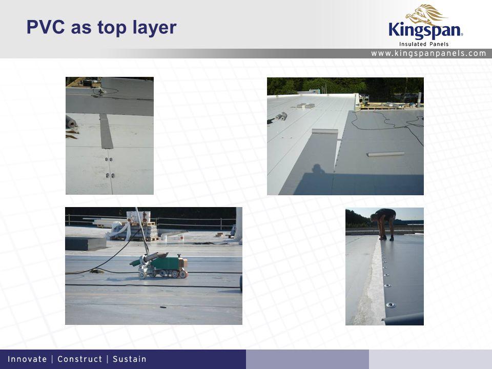 PVC as top layer