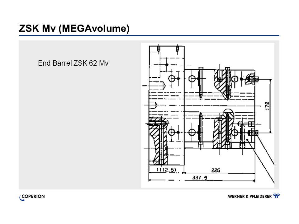 End Barrel ZSK 62 Mv ZSK Mv (MEGAvolume)