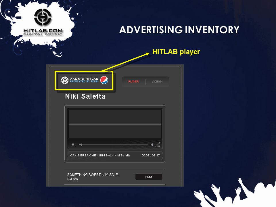 17 ADVERTISING INVENTORY HITLAB player