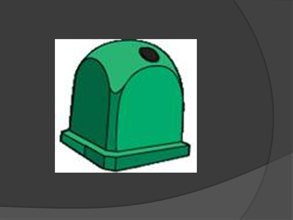 Use glass  Glass waste from green container is first manually and remove the largest pieces of debris.