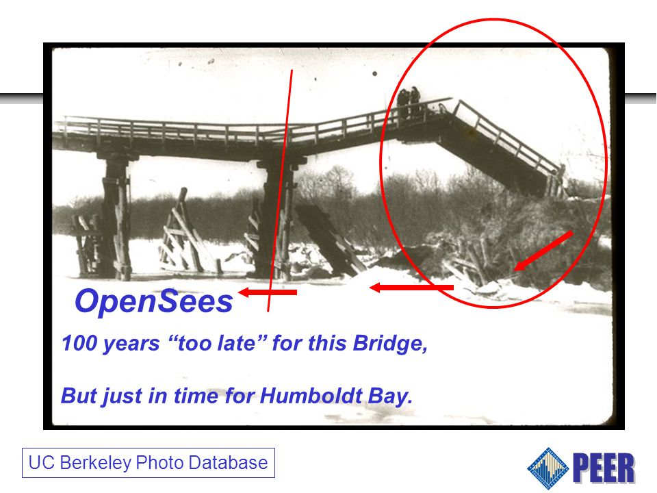 UC Berkeley Photo Database 100 years too late for this Bridge, But just in time for Humboldt Bay.