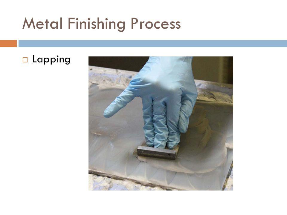 Metal Finishing Process  Lapping