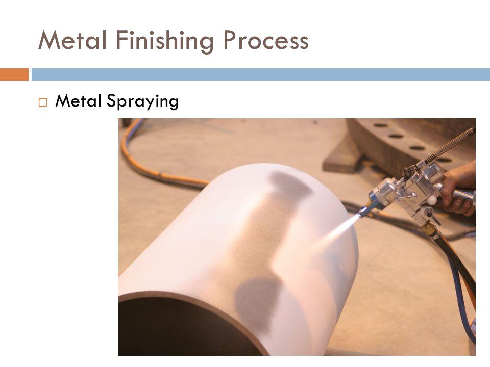 Metal Finishing Process  Metal Spraying