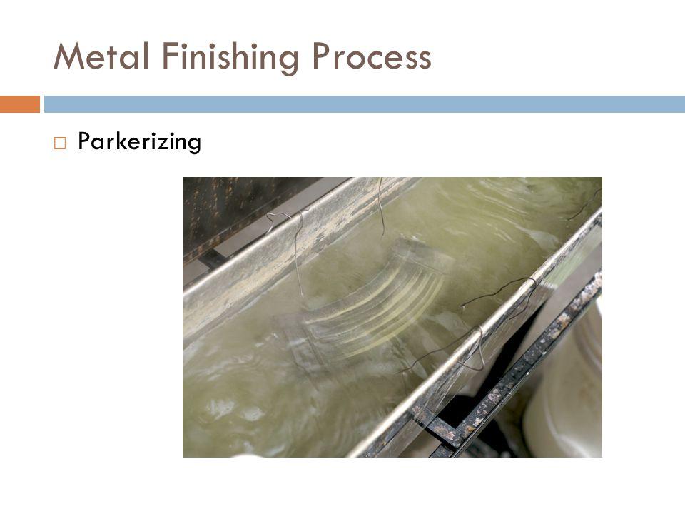 Metal Finishing Process  Parkerizing