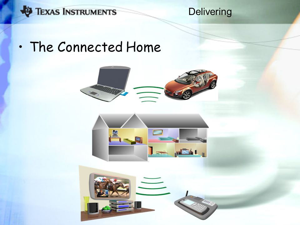 Delivering The Connected Home