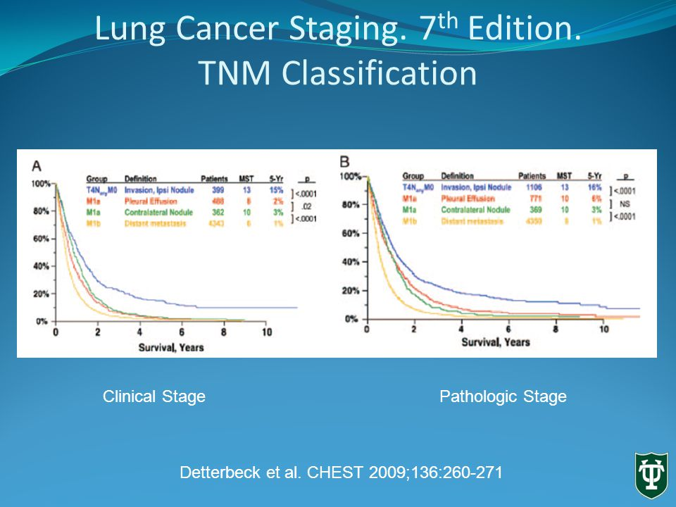 Lung Cancer Staging. 7 th Edition.