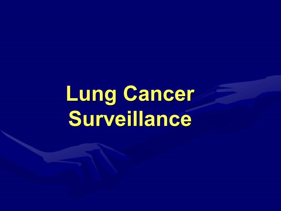 Lung Cancer Surveillance