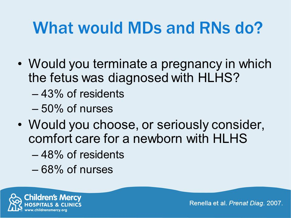 What would MDs and RNs do.