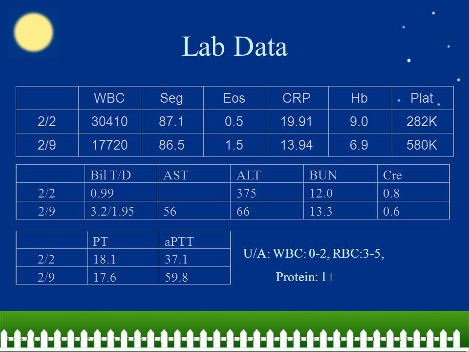  Autoimmune profile: .中國 hospital: Homocysteine, protein C and protein S: within normal limit Antithrombin-III: mild decreased . NTUH C3/C4:79.9/11.8 IgG/IgA/IgM: 619/175/39.2, C-ANCA: 0.4, P- ANCA: 1.0 ANA:1:40 – Anticardiolipin DVVT anti-β2 GP1 <15 U/ml ( moderate: 8-32 ) negative <20 units ( <26 )