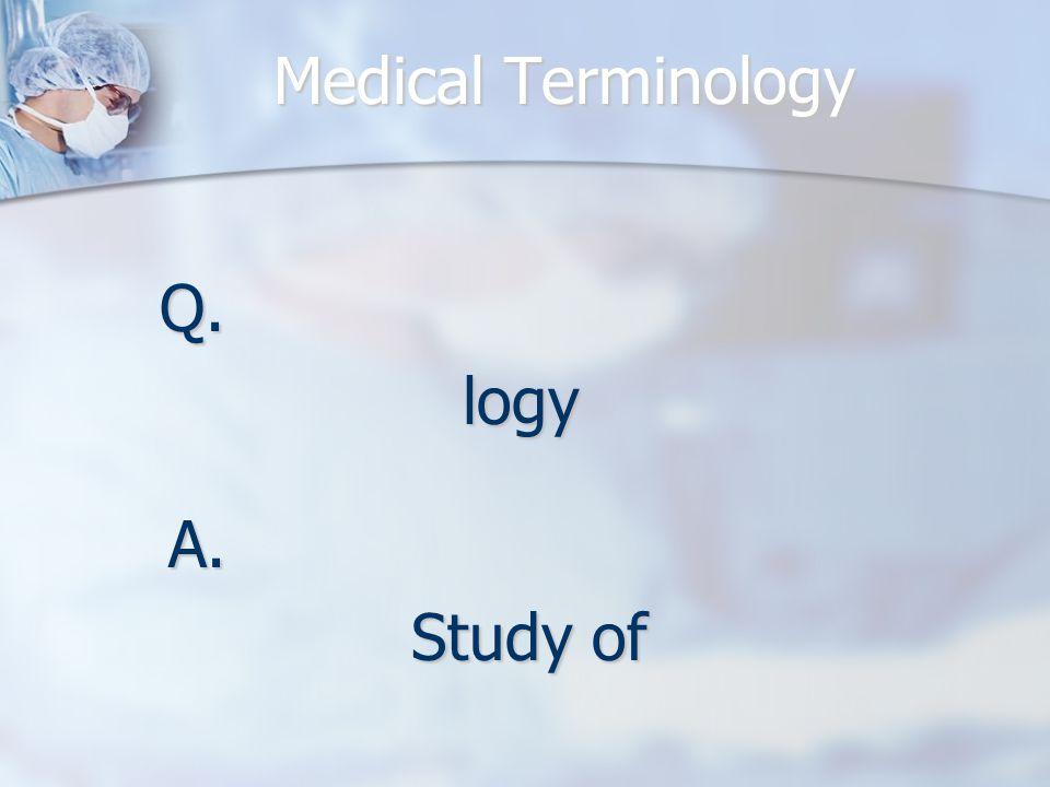 Q.logy A. Study of