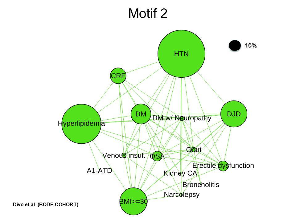 Motif 210% Divo et al (BODE COHORT)