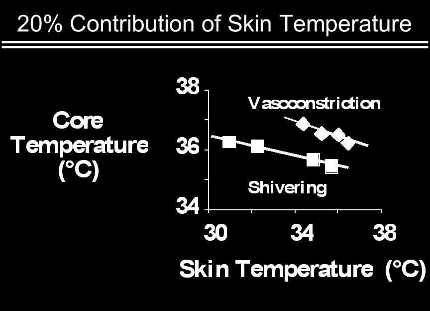 20% Contribution of Skin Temperature