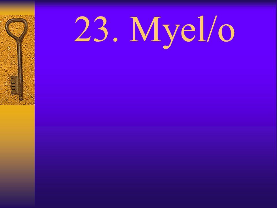 22. Laryng/o