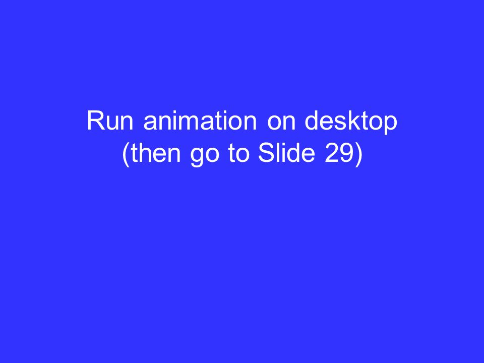 Run animation on desktop (then go to Slide 29)
