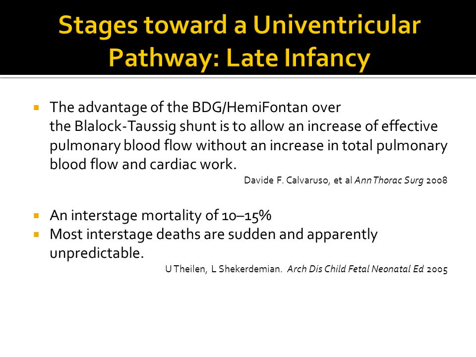  The advantage of the BDG/HemiFontan over the Blalock-Taussig shunt is to allow an increase of effective pulmonary blood flow without an increase in