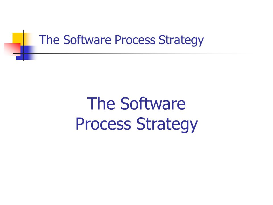 The software process (SP) is a self-improvement process designed to help you control, manage, and improve the way you work.