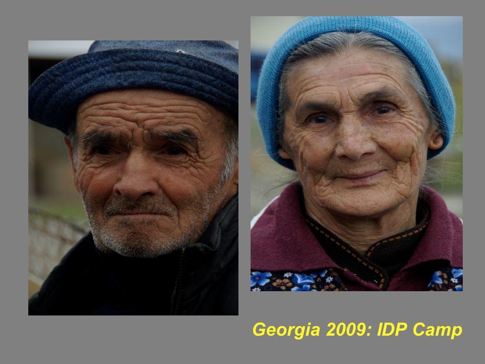 Georgia 2009: IDP Camp