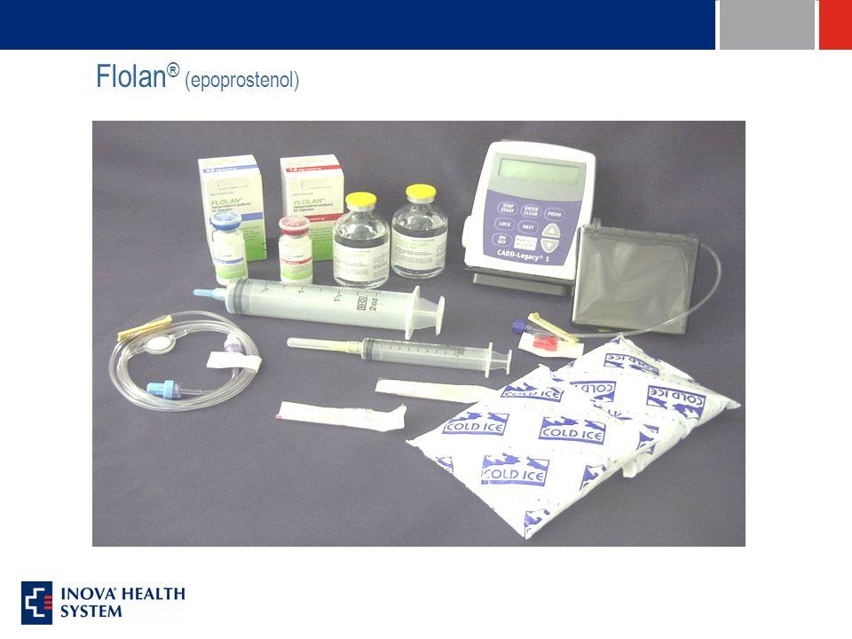 Flolan ® (epoprostenol)