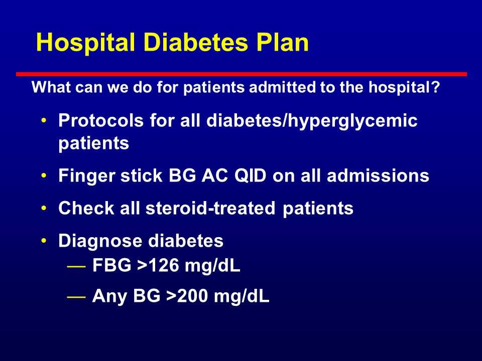 Protocol for Insulin in Hospitalized Patient Treatment of hypoglycemia Any BG <80 mg/dL: D50 IV = (100 - BG) x 0.4 If eating, may use 15 gm of rapid C