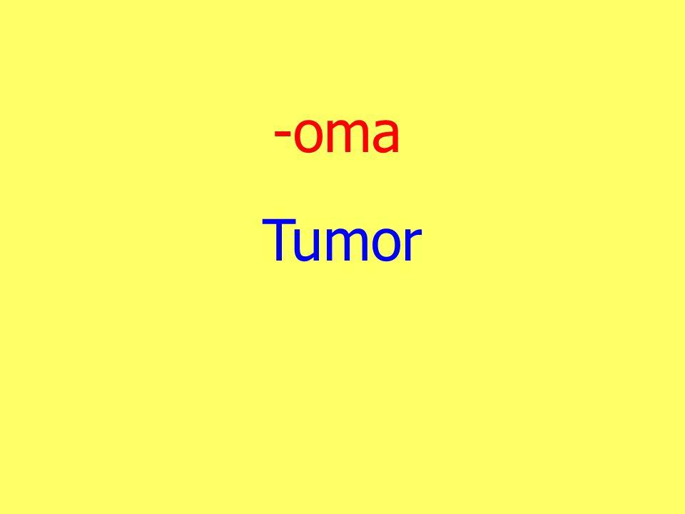 -oma Tumor
