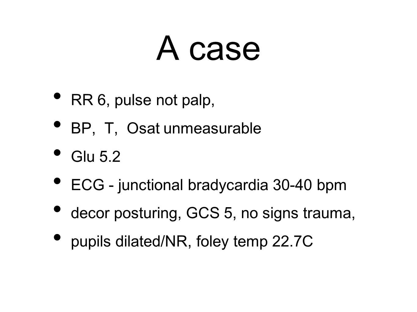 CBC underestimates blood loss because of normal hematocrit normal WBC count does not rule out infection normal platelet count does not infer they are functional Danzl DF.