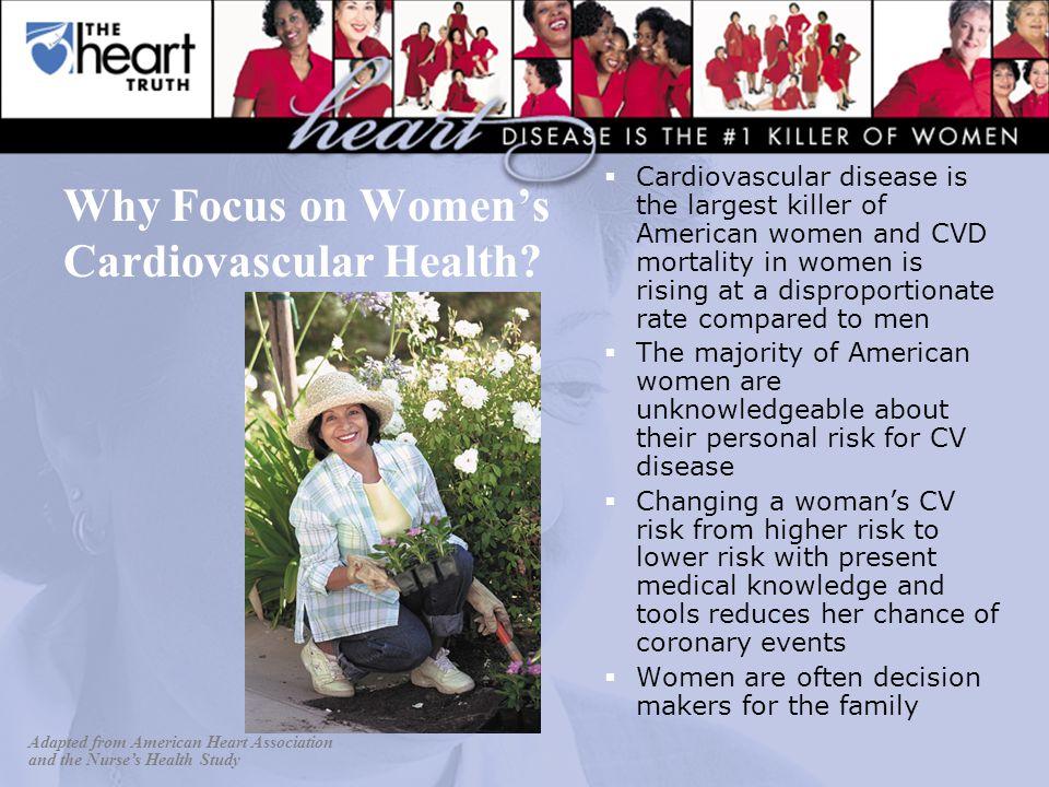 Why Focus on Women's Cardiovascular Health.