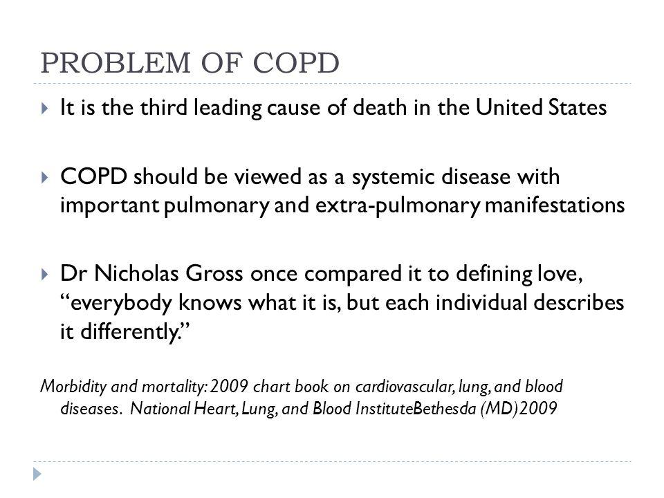 Management of Acute COPD exacerbations