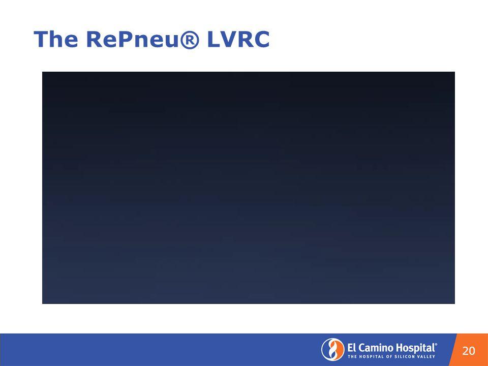The RePneu® LVRC 20