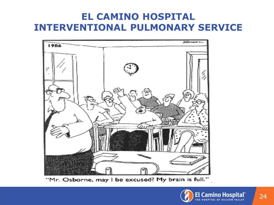 EL CAMINO HOSPITAL INTERVENTIONAL PULMONARY SERVICE 24