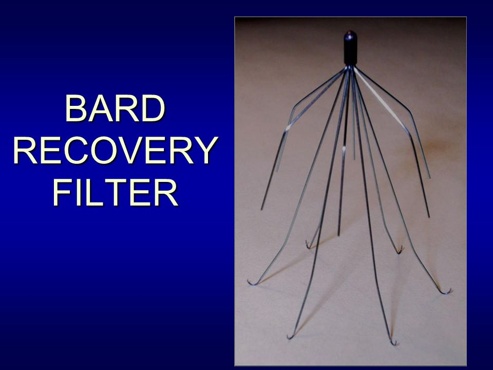 BARD RECOVERY FILTER