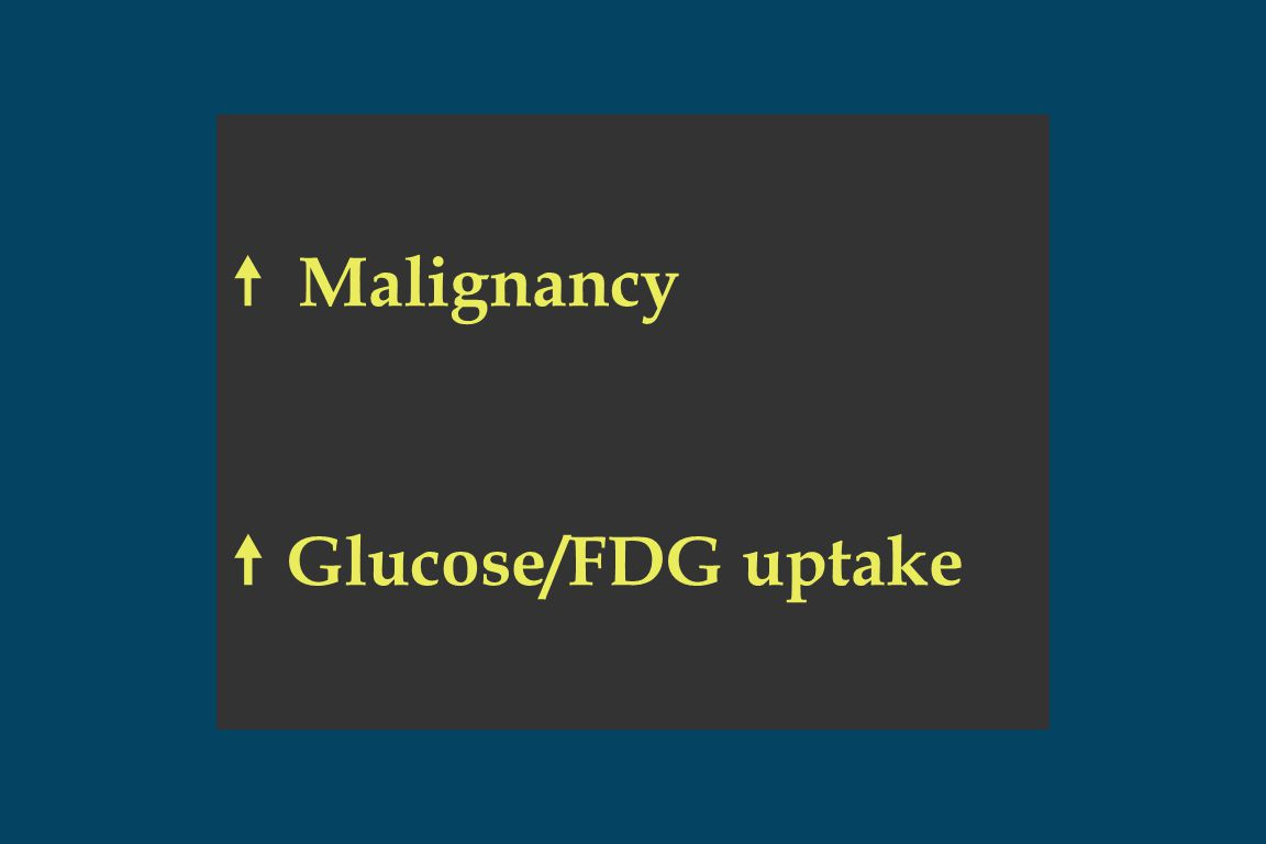Pancreatic Cancer: Potential Indications for PET Imaging  DDx: Chronic pancreatic mass vs.