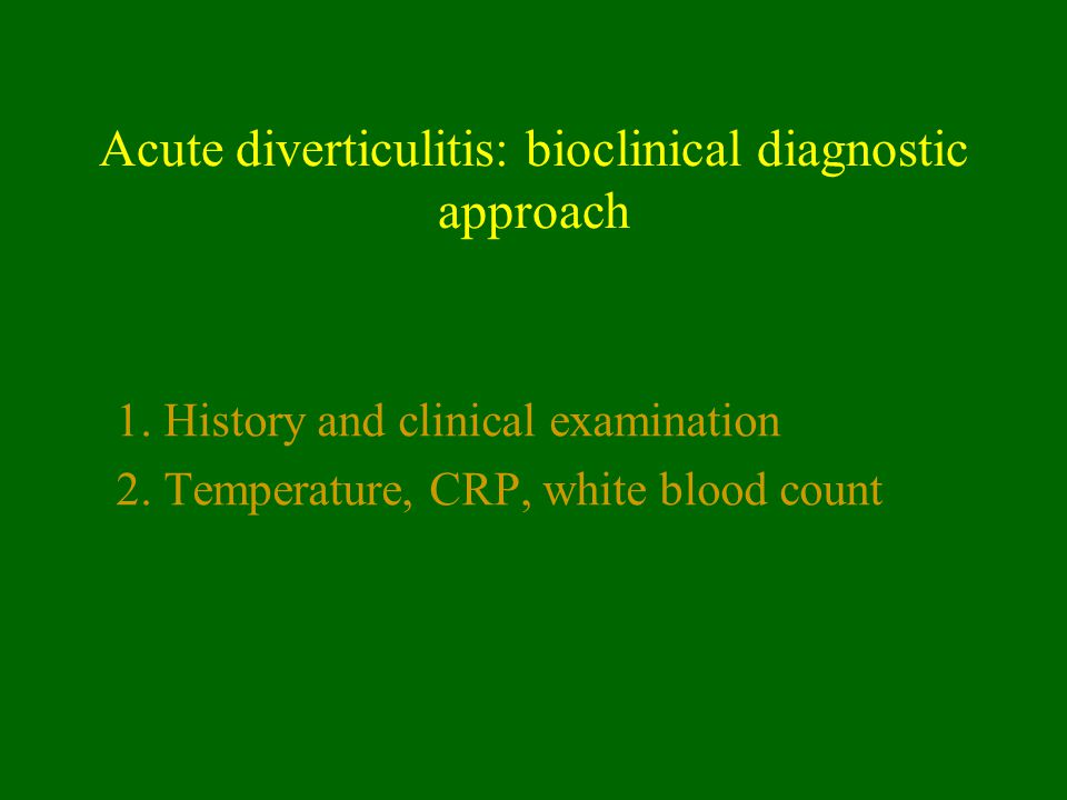 How do we grade the severity of the diverticulitis .