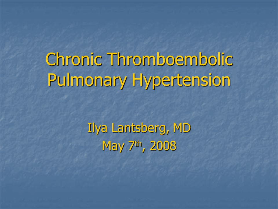 Pulmonary Endarterectomy Chance of cure in proximal obstruction driven Pulmonary Hypertension only Chance of cure in proximal obstruction driven Pulmonary Hypertension only Pre op ( A); PVR -768 dyne · s · cm5.