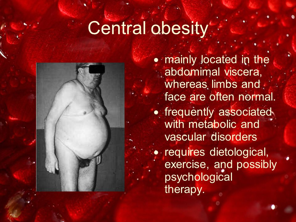 Obesity and Surgery Surgical site infection –Mechanisms decreased oxygen tension immune impairment tension along suture line longer operative time –Relative risk = 2-3x