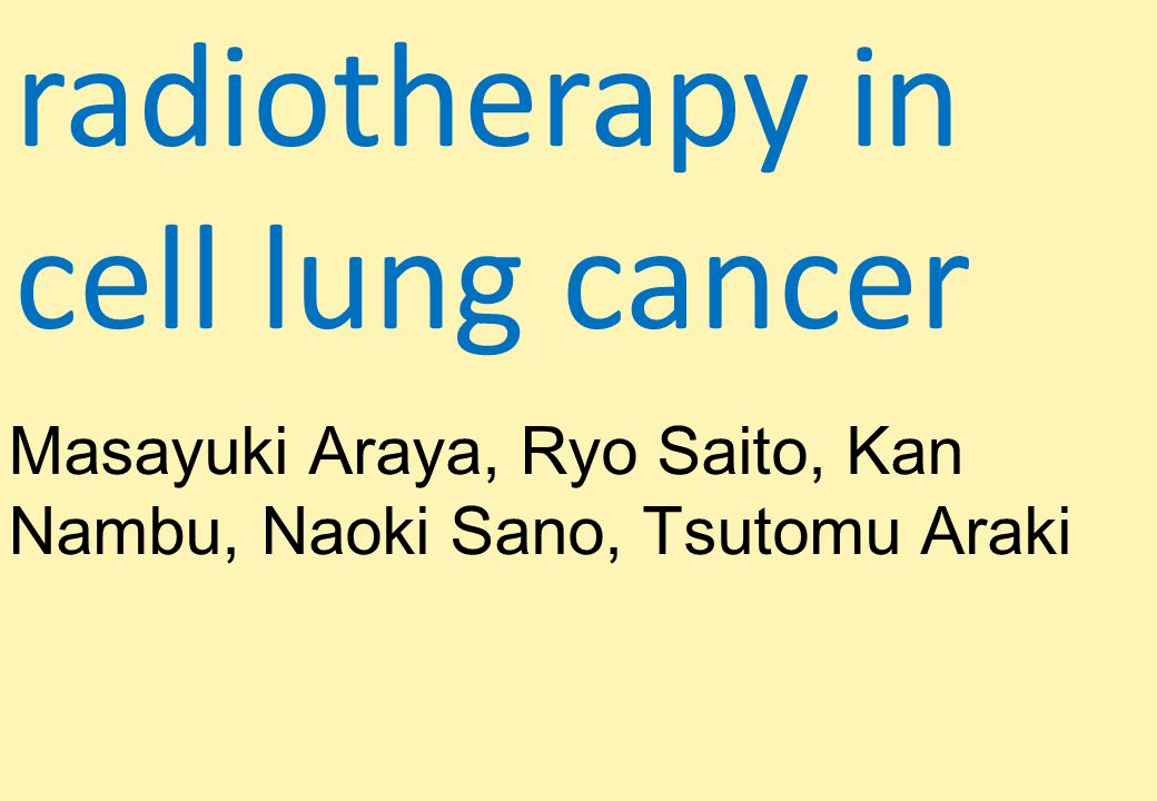 Background Despite the increasing popularity of SBRT, experience with extremely hypofractionated, high-dose radiotherapy regimens and their posttreatment radiologic findings and clinical toxicity remains limited.