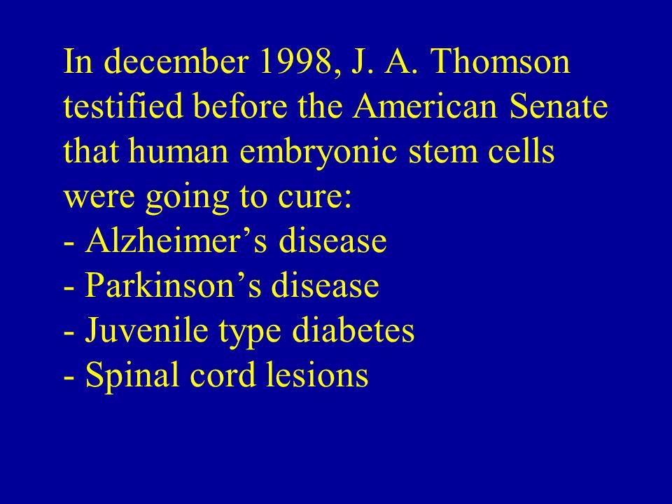 In december 1998, J. A.